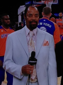 """Grading Walt """"Clyde"""" Frazier's suits one game at a time"""
