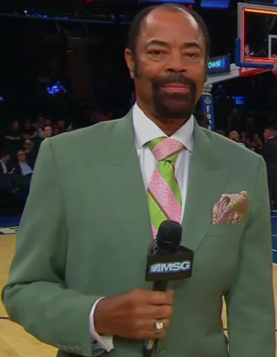 Walt Clyde Frazier Clyde So Fly Preseason Game 3