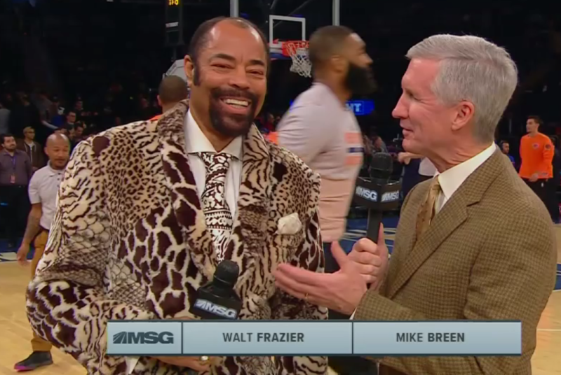 Walt Clyde Frazier Clyde So Fly
